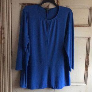 LAUREN Ralph Lauren Royal Blue Tunic